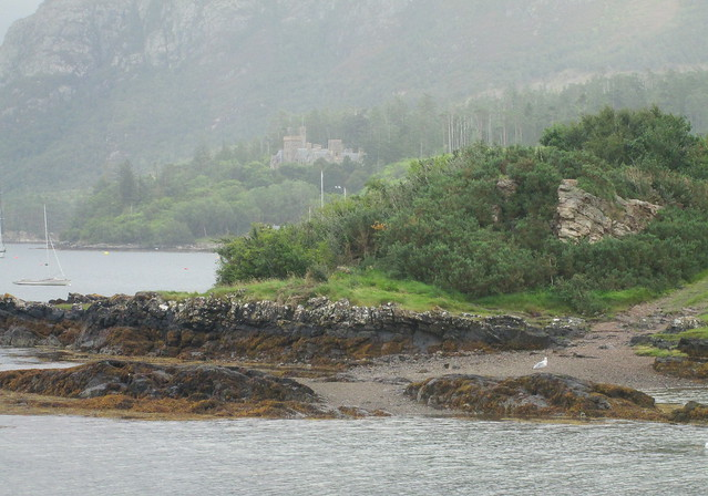 Duncraig Castle from Plockton