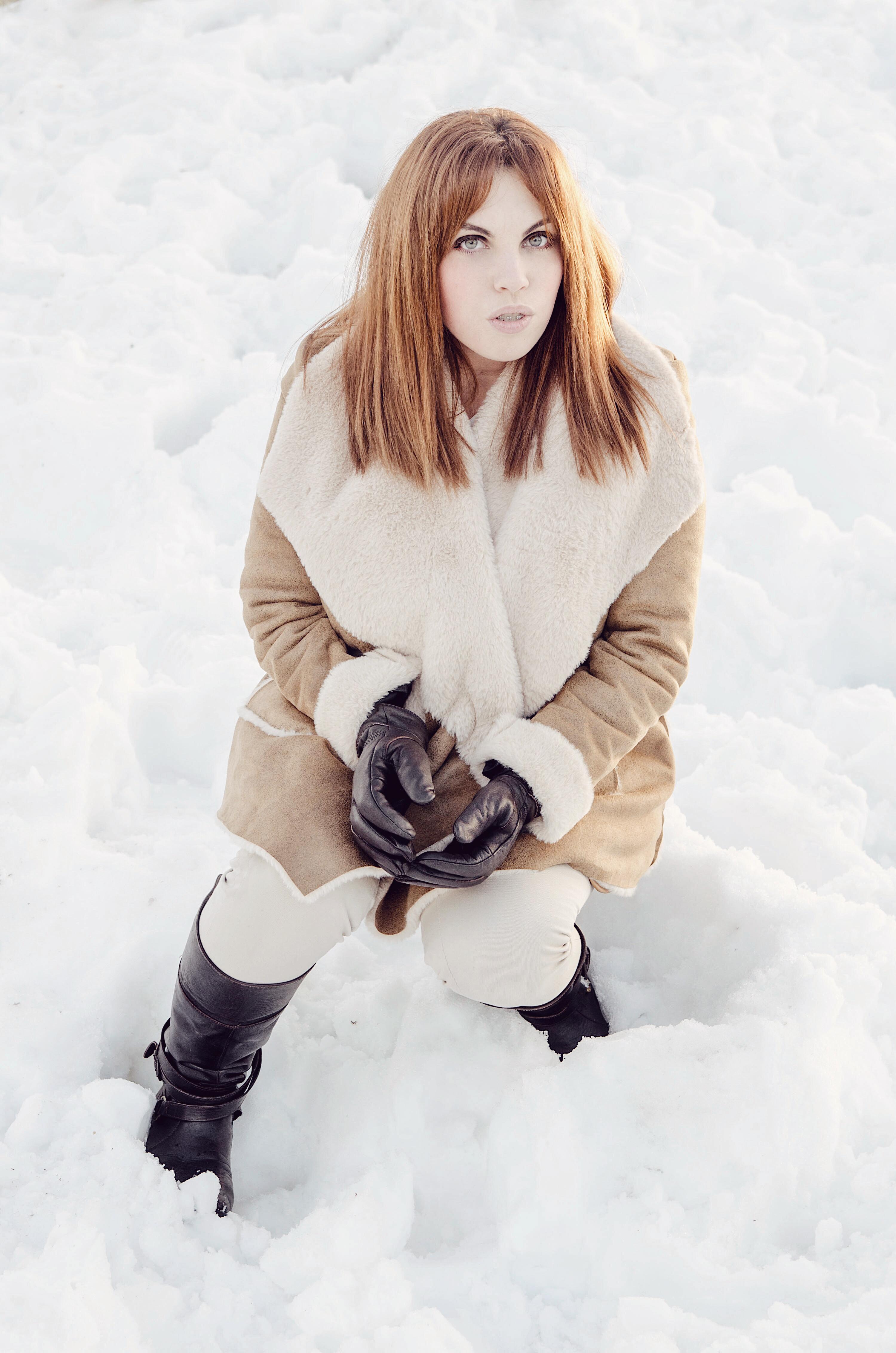 Look para ir a la nieve
