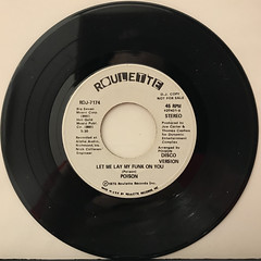 POISON:LET ME LAY MY FUNK ON YOU(RECORD SIDE-B)