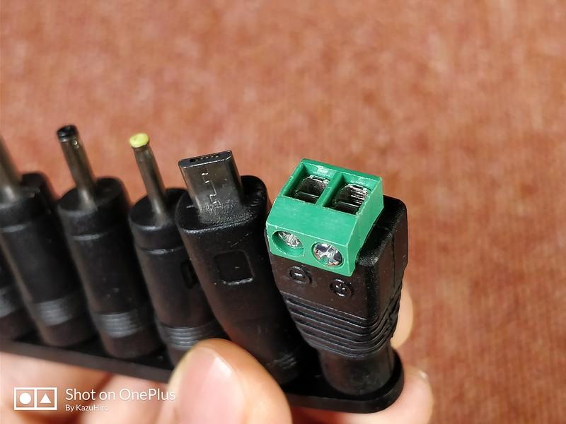 電圧調整可能なACアダプター (12)