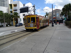 Tampa Bay Tampa Bay (Hillsborough Area Regional Transit Authority) HART TECO Line  Gomaco Replica Birney Trolley 433 Car