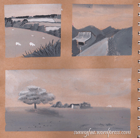 landscape value studies 1