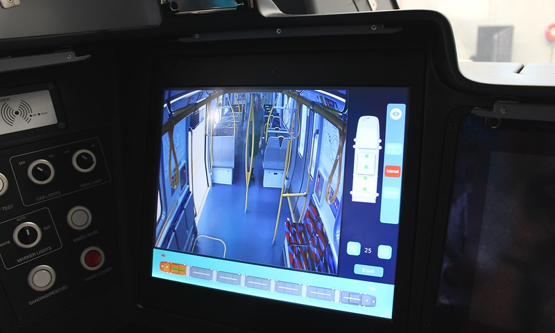 New metro trains: CCTV in cab