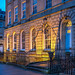 Great Pulteney Street Bath blue hour