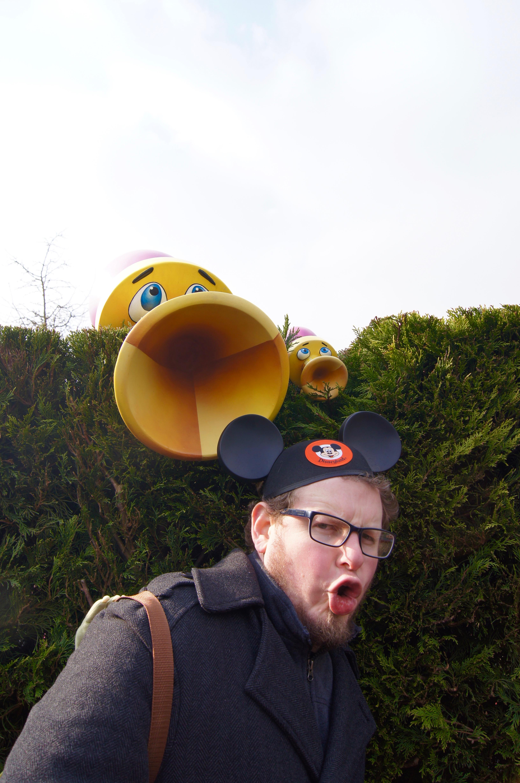 Disneyland Paris Trip - trumpet