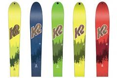 No Way Back! Pět modelů K2 pro skitouring