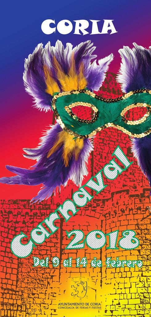 El Carnaval de Coria se celebrará del 9 al 14 de febrero con premios para los mejores disfraces