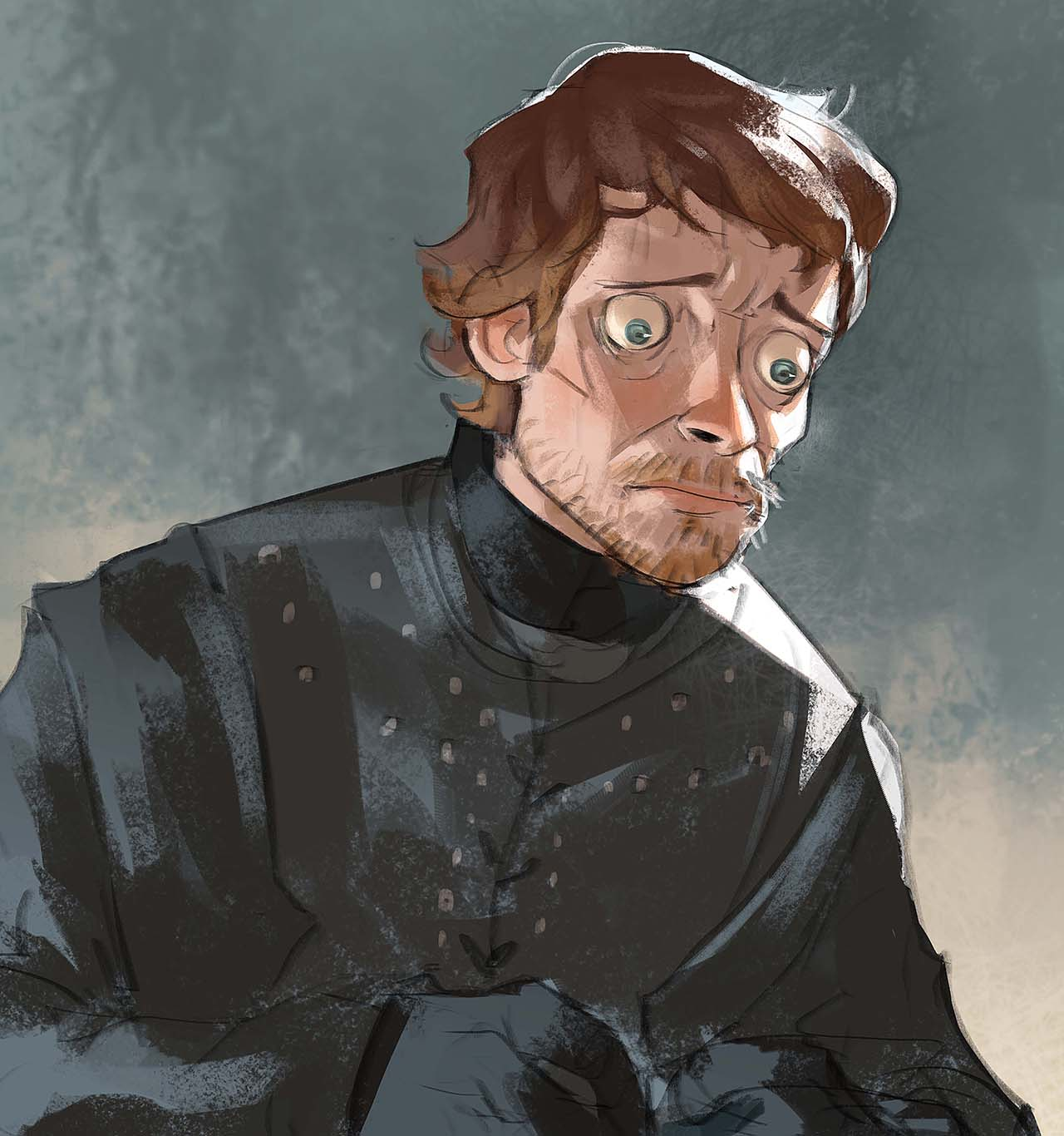 Artist Creates Unique Character Arts From Game Of Thrones – Theon Greyjoy Character Art By Ramón Nuñez