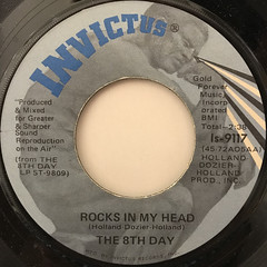 THE 8TH DAY:ROCKS IN MY HEAD(LABEL SIDE-A)
