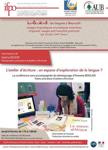 L'atelier d'écriture : un espace d'exploration de la langue ?