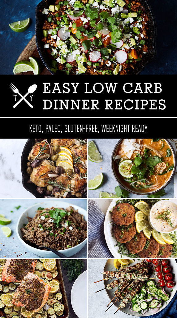 70 easy low carb keto dinner recipes tasty yummies for Quick and easy low carb dinner recipes