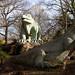 Iguanodons   Crystal Palace Park   Feb 2018-2