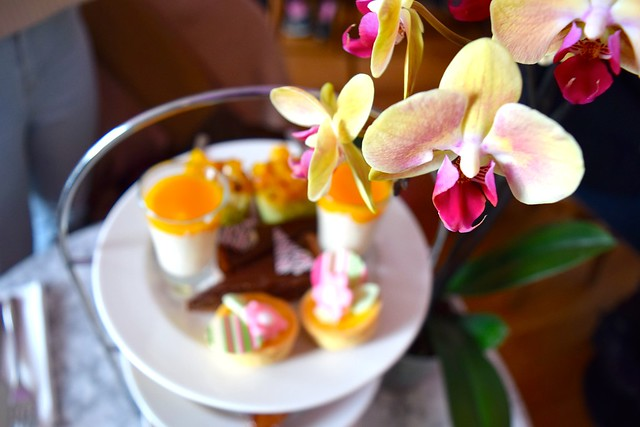 Kew Gardens Orchid Festival 2018 Thai Afternoon Tea #afternoontea #thai #kewgardens #london