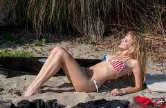 Stars & Stripes Forever! Happy 4th of July American Flag Bikini Swimsuit Model Red, White, and Blue Bikini! Golden Ratio Composition Photography Surf Goddesses! Athletic Action Portraits Swimsuit Bikini Models! Athena! Athletic Fitness Models! dx4/dt=ic