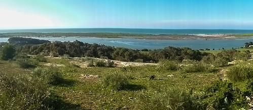 Oualidia Lagoon Panorama.