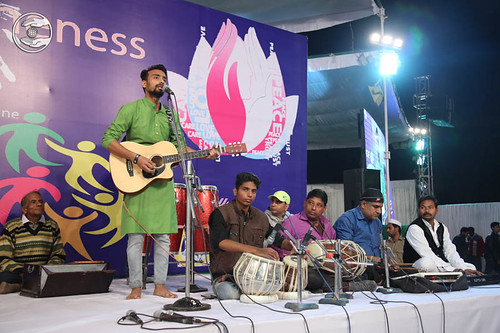 English devotional song by Rajat and Saathi from Gwalior