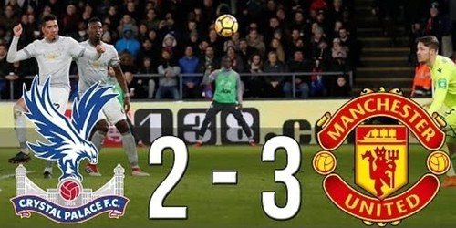 Cuplikan Gol – Crystal Palace 2-3 Manchester United – 05 Maret 2018 – Liga Inggris