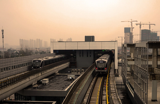 Shanghai Metro Line 17 | 17A01 | Xujing North City Station