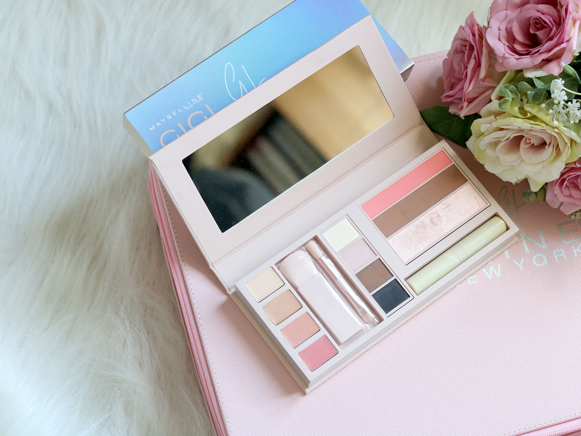 9 Gigi Hadid Maybelline Collection Review Swatches Photos - Jetsetter Palette - Gen-zel She Sings Beauty