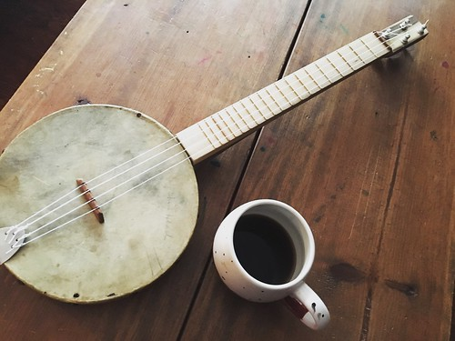 Coffee and banjolele