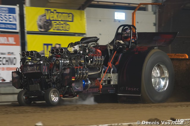 NTTO Indoor Tractorpulling Zwolle Modifieds 2018