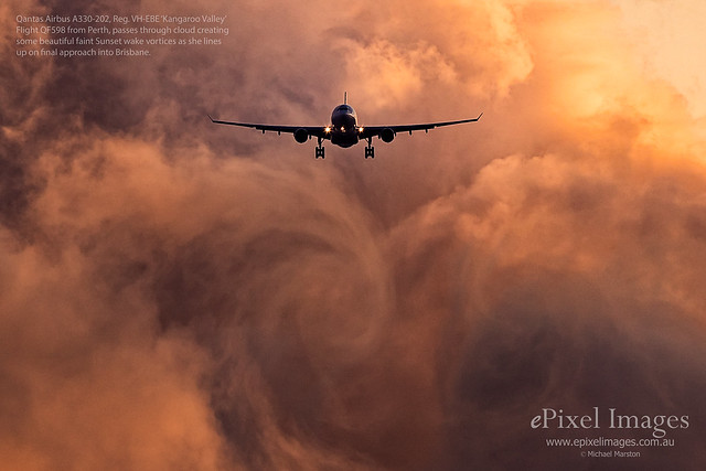 Qantas Airbus A330-202, Reg, Canon EOS-1D X MARK II, Canon EF 800mm f/5.6L IS
