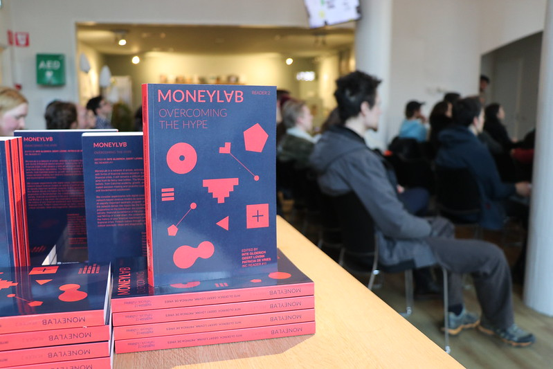 Book Launch Moneylab Reader 2 and Artists Re:Thinking the Blockchain