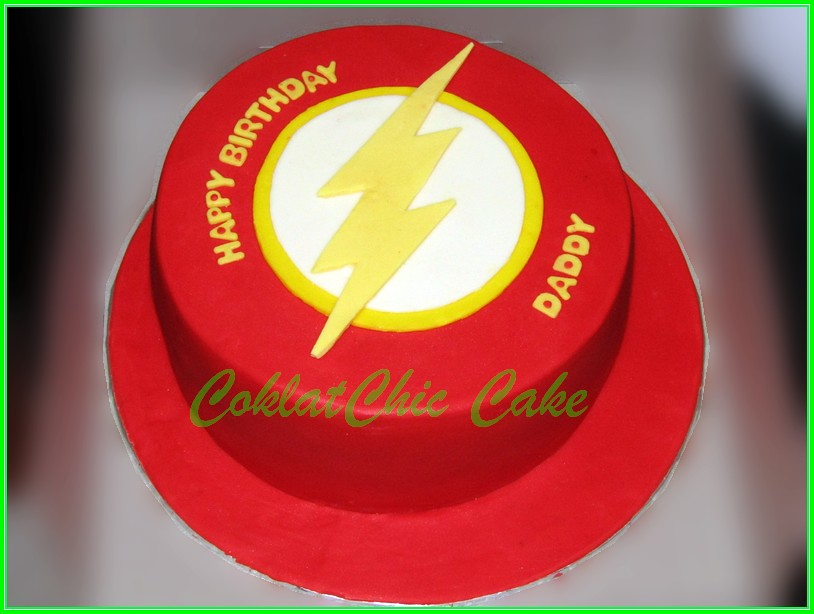 Cake the Flash DADDY 18 cm