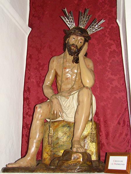 Ilustre y Fervorosa Hermandad y Cofradía del Santísimo Cristo de la Humildad y Paciencia y Nª Sª de los Dolores Sierva del Señor.