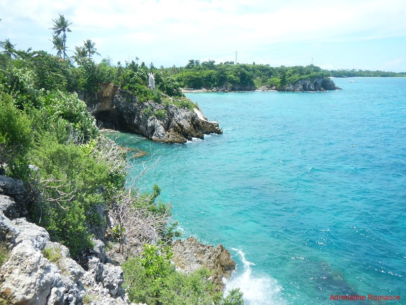 View from Lapus Lapus Cliff