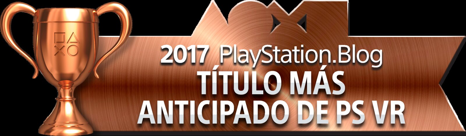 PlayStation Blog Game of the Year 2017 - Most Anticipated PS VR Title (Bronze)