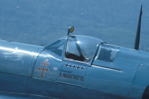 Supermarine Spitfire Mk.XI at the 1986 Sion Air Show