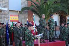 acto de relevo del Segundo Jefe del Cuartel General de Despliegue rápido de la @NATO