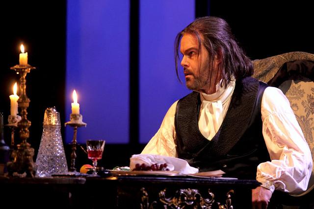Gerald Finley as Baron Scarpia in Tosca, The Royal Opera Season 2017/18 © ROH 2017. Photograph by Catherine Ashmore.
