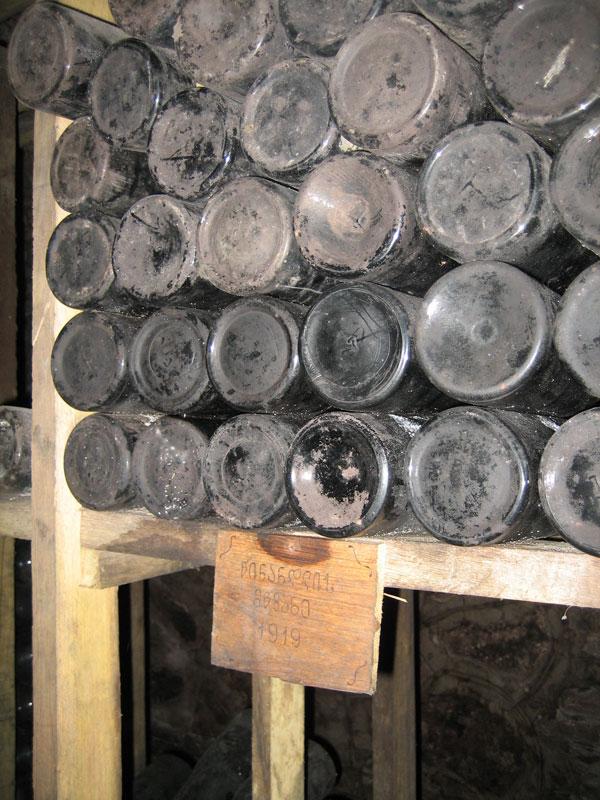 Бывший завод в Цинандали