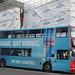NO SUGAR, JUST WIIINGS, RED BULL SUGARFREE - National Express West Midlands bus in Eastside