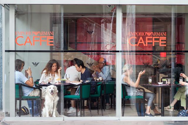 Armani Caffè, Milano 2015