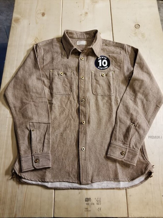 REW10 FLANNEL WORK SHIRTS
