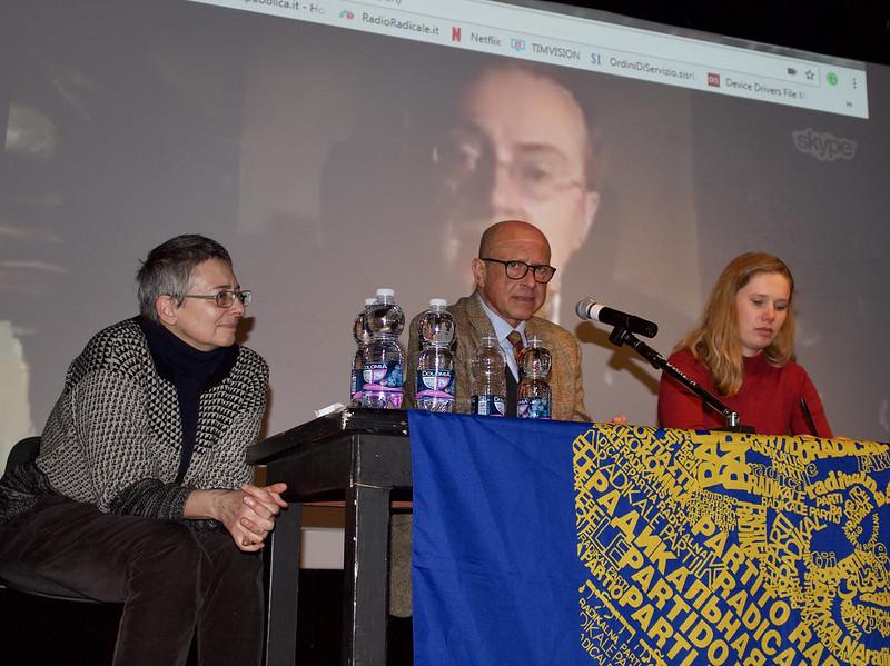 Patrizia Giacone, Marino Busdachin e Laura Harth