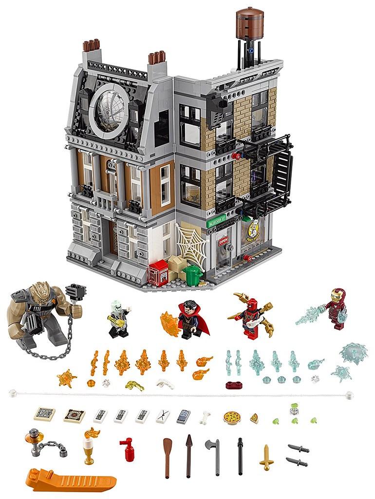 LEGO Marvel Super Heroes 76108 - Sanctum Sanctorum Showdown