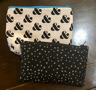 Zipper pouches - sewing class