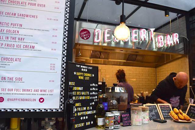 Happy Endings, The Kitchen at Old Spitalfields Market #happyendings #dessert #streetfood #london #spitalfields