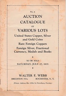 WEBB auction cat 1935