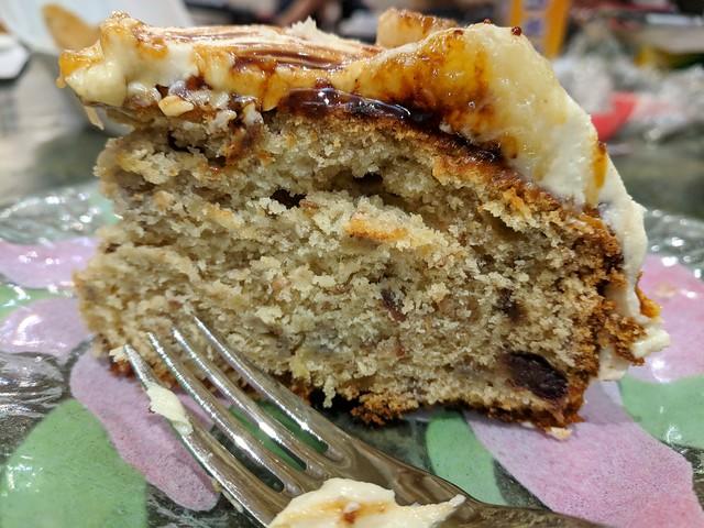 Sesame, Date and Banana Cake