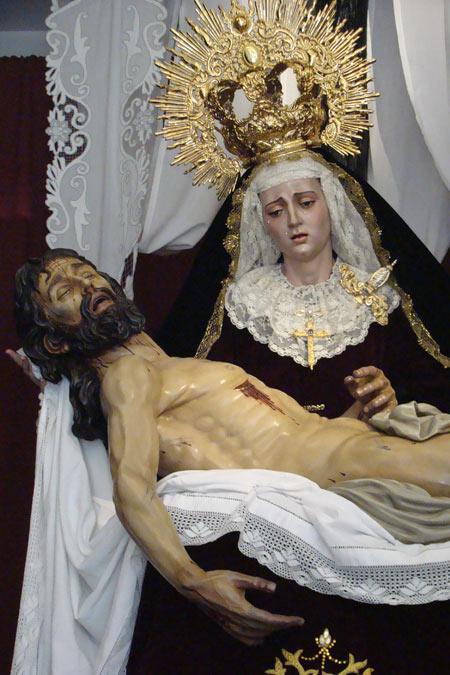 Hermandad de la Santa Cruz en el Monte Calvario, Inmaculada Concepción de María y Cofradía de Nazarenos del Santísimo Cristo de la Buena Muerte y Nuestra Señora de la Piedad