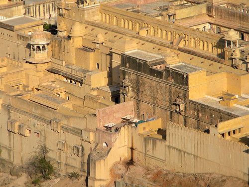 Amber Fort and Palace near Jaipur in India