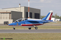 E130 1 F-TERP - E130 - Patrouille de France - French Air Force - Dassault-Dornier Alpha Jet E - RIAT 2010 Fairford - Steven Gray - IMG_9773