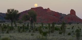 Full Moon over Mt Ooraminna