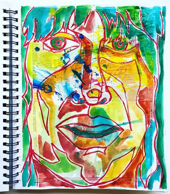 Christian Montone - Sketchbook Portrait Study