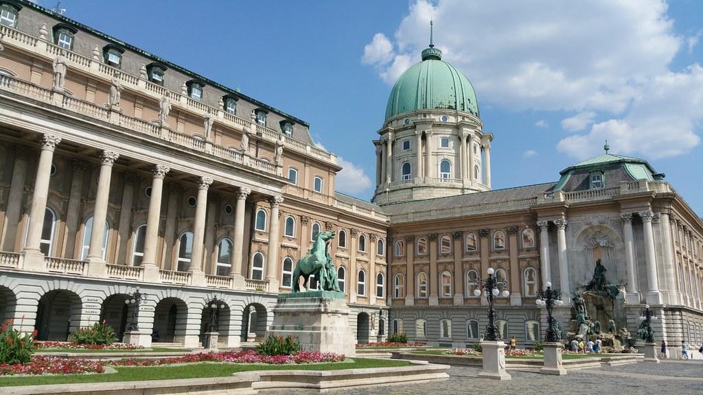 Galerie Nationale dans le Chateau de Budapest en Hongrie.